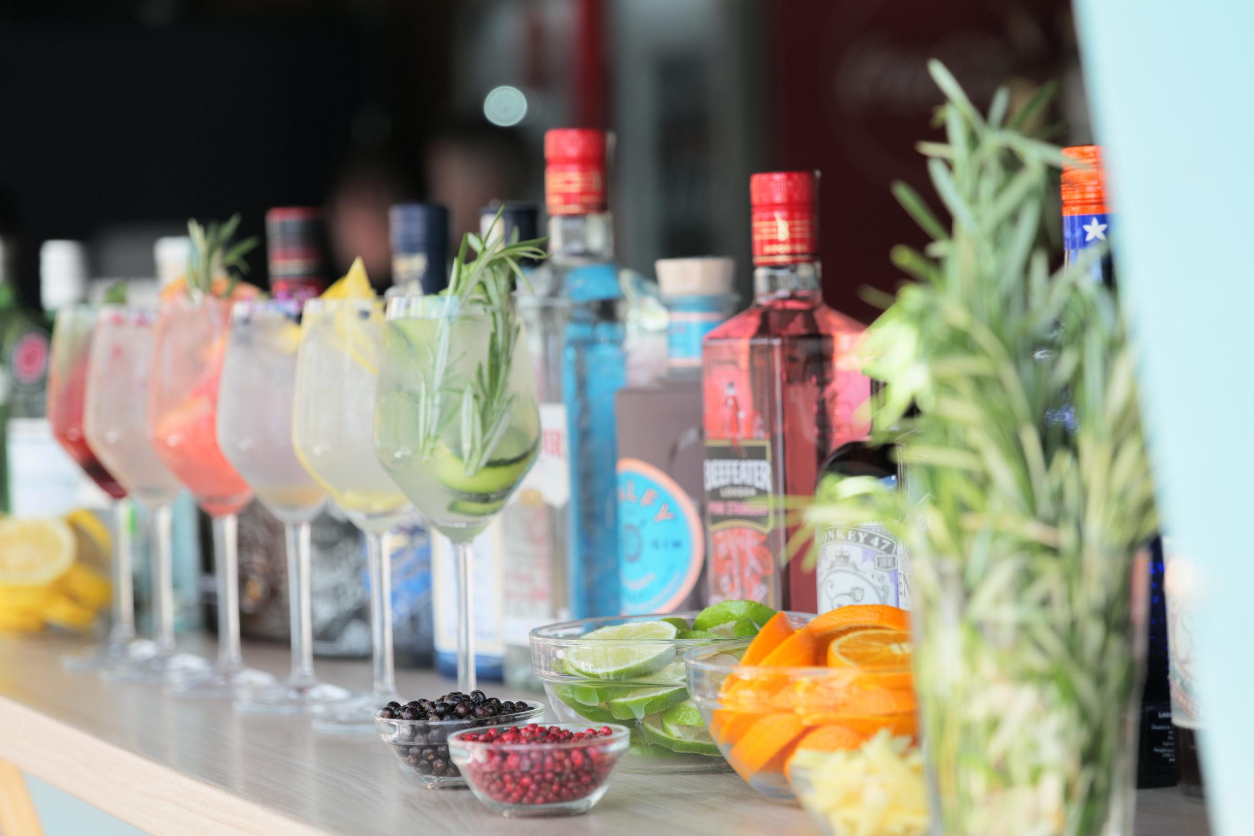 Gin Tonic mennyország a Bálna Teraszon
